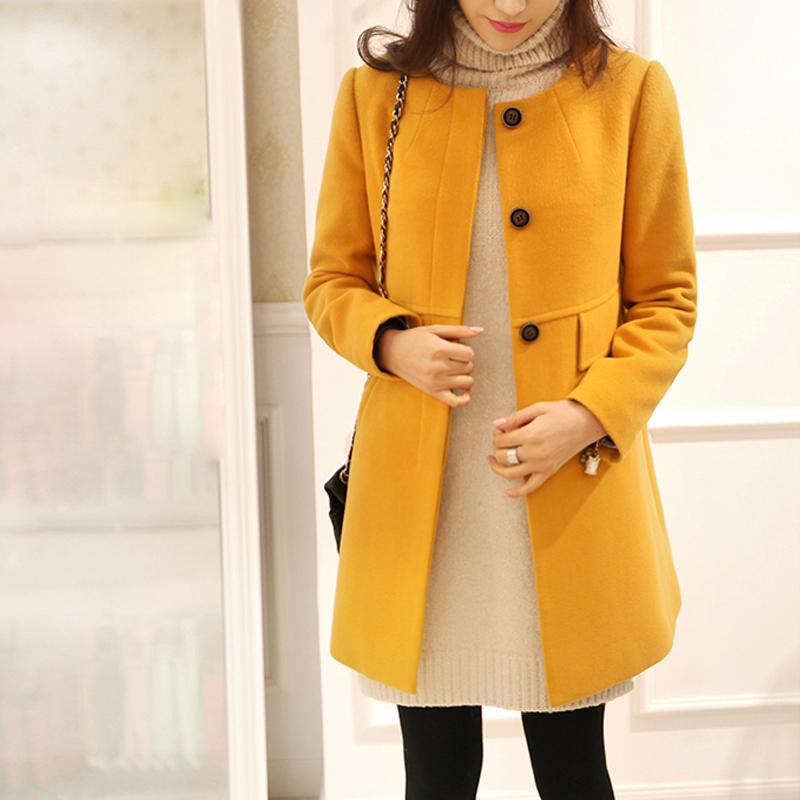 Winter Autumn Women Jacket Windbreaker Oversize Long Sleeve O-neck A-line Cardiganliilgal-liilgal