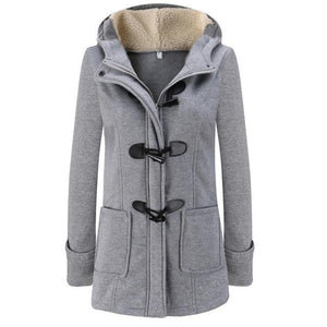 Women Parka 2018 Winter Long Thick Coats Cotton Solid Zipper Casual Femaleliilgal-liilgal