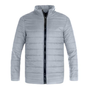 Winter Autumn Solid Casual Jacket Men Men's Cotton Blend Mens Thickliilgal-liilgal