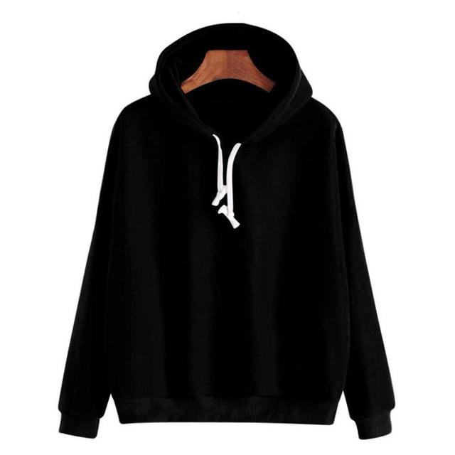 2018 Autumn Women Hoodie Casual Long Sleeve Hooded Pullover Sweatshirts Hooded Femaleliilgal-liilgal