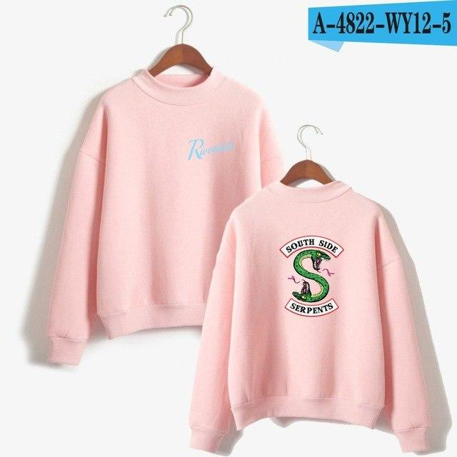 New Riverdale Sweatshirt Woman Harajuku Kawaii Tops South Side Serpents Sweatshirts Plusliilgal-liilgal