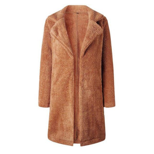 Women Long Coat Female Fur Coat Winter Feminine Coat Plus Size Brigosliilgal-liilgal