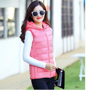 Woman Spring Plus Size Hooded Thick Down Jackets Female Autumn Oversized Warmliilgal-liilgal
