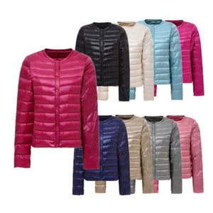 Casual Thin Women Parkas Plus Size 4XL Single Breasted Multi-color Female Cropliilgal-liilgal