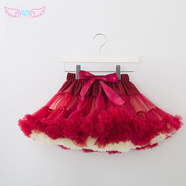 Womens Skirt Fluffy Chiffon Pettiskirts Tulle Skirt Party Dance Tutu Skirt Womenliilgal-liilgal