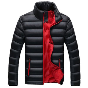 Autumn Winter Parka Men Jacket Coat Outerwear Fashion Padded Quilted Warmliilgal-liilgal