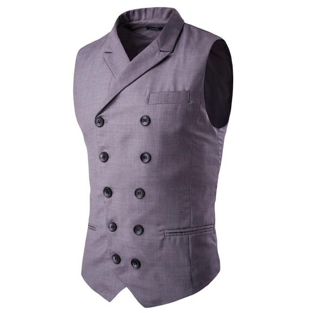 New 2018 Korean Style Tide Men's Classic Small Vest Male Slim Hitliilgal-liilgal