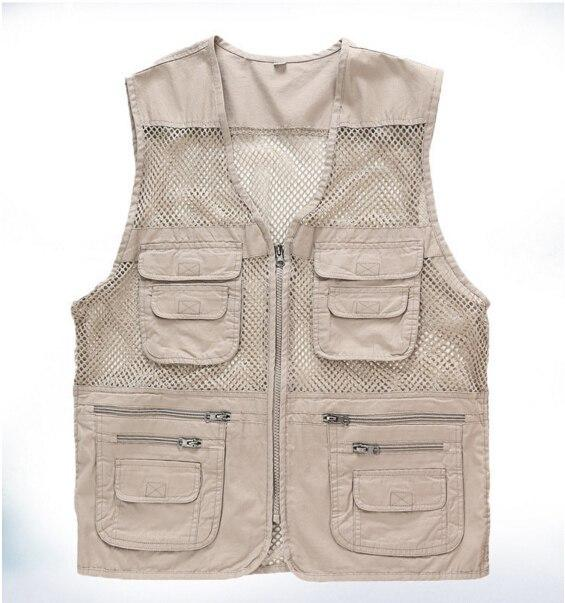 MOCH Male Vest Casual Loose Plus Size Black Men Vest With Manyliilgal-liilgal