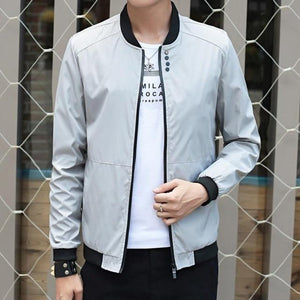 Fashion Male Jacket Coat Men 2018 Spring Business Casual Clothes Summer Thinliilgal-liilgal