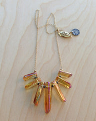 Prism Ray Necklace