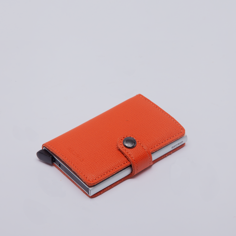 Secrid | Mini Wallet | Crisple | Orange