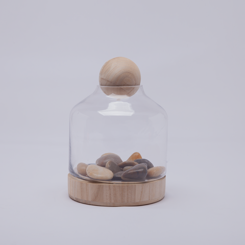 Terrarium | Wooden Ball | Small