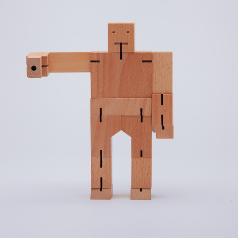 Areaware | Cubebot® | Extra Large | Natural