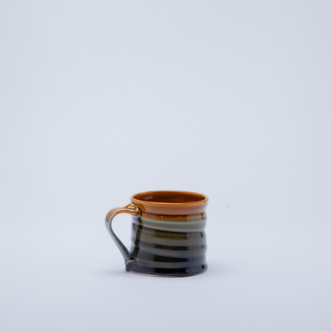 Ross Palmer | Breakfast Mug | Mottled Green