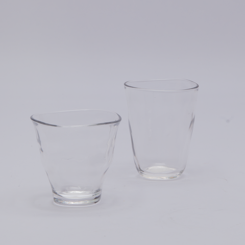 Naibu | Clear Glass Tumbler