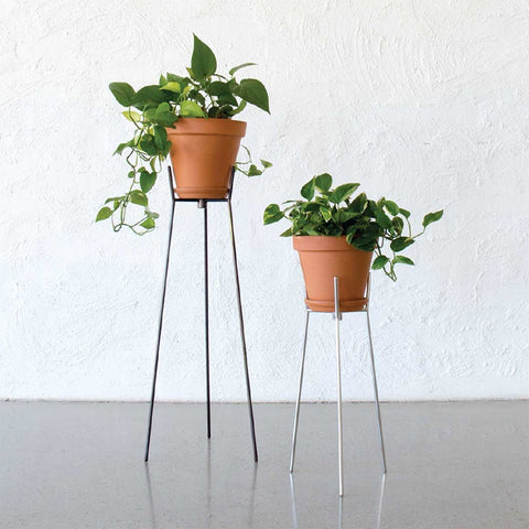 Wire Pot Stand Stainless