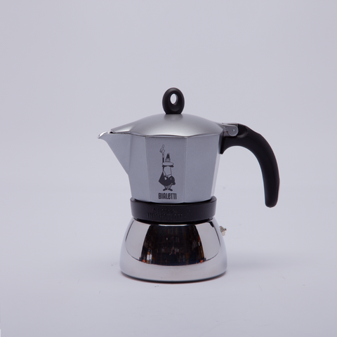 Bialetti | Moka Induction | Silver | 6 cup