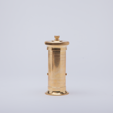 Pepper Mill Co | Chef's Brass Pepper Mill | 17cm