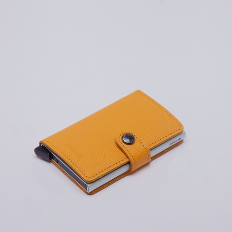 Secrid | Mini Wallet | Crisple | Amber