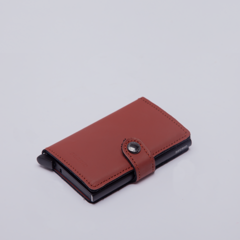 Secrid | Mini Wallet | Matte | Brick & Black
