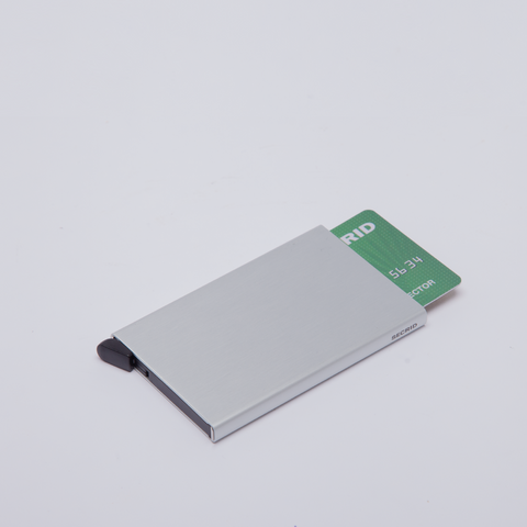 Secrid | Card Protector | Silver Brushed