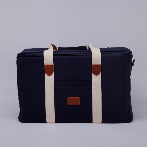 Slowlife Collection | Picnic Bag | Navy