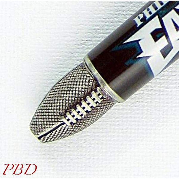 Antique Pewter Football Pen - Philly Eagles - Ballpoint