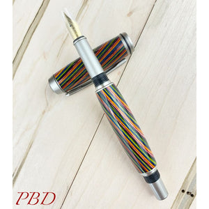 Baron - Colorful Laminated Fountain Pen - Fountain