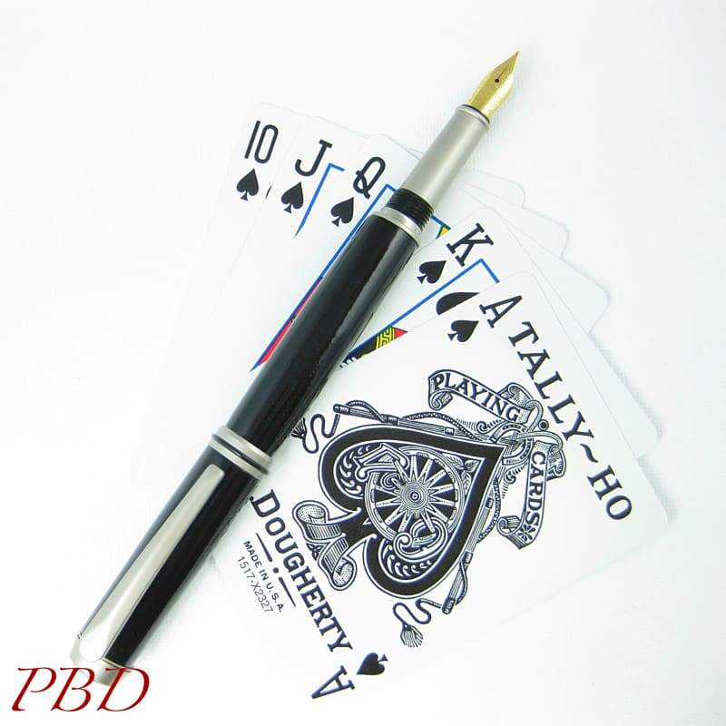 Black Beauty Fountain Pen - Fountain