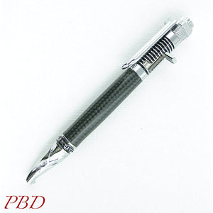 Chromium Motorcycle Bolt-action Pen - Ballpoint