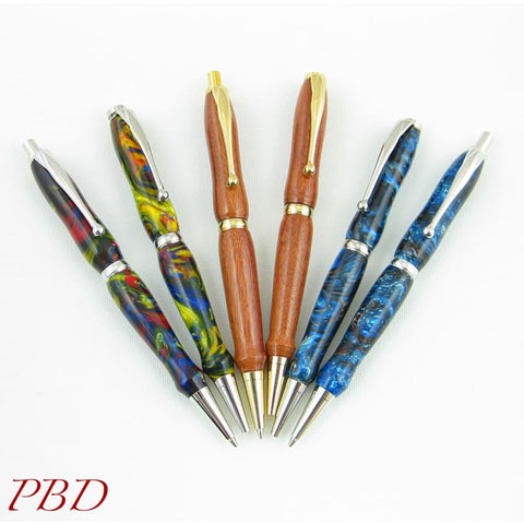 Exotic Acrylic Pen and Pencil Sets - Set