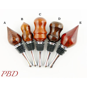 Exotic Wood Bottle Stoppers - Bottle Stopper