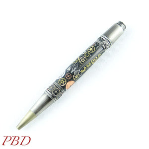 Handcrafted Steampunk Themed Pen - Ballpoint