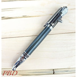 Motorcycle Chrome Kickstart Action Pen - Ballpoint