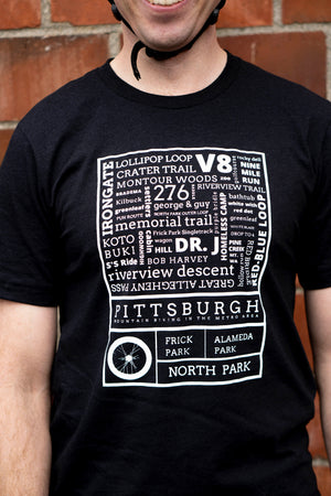 STEEL CITY TRAILS T-SHIRT