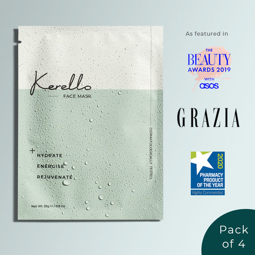 Kerello Advanced Biocellulose Sheet Mask (Pack of 4)