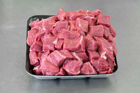 chunky diced beef 2kg