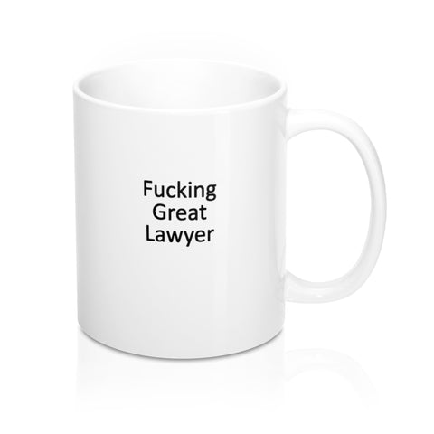 """ GREAT LAWYER"" Coffee Mug 11oz - mugsouk"
