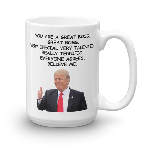 Trump Favorite Boss 11 15 Oz Coffee Mug - mugsouk