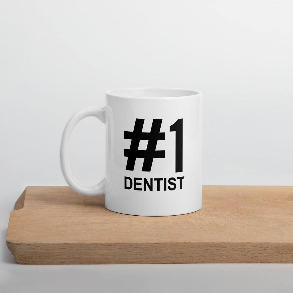 #1  Dentist Mug - Number One - mugsouk