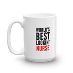 world best looking Nurse - mugsouk