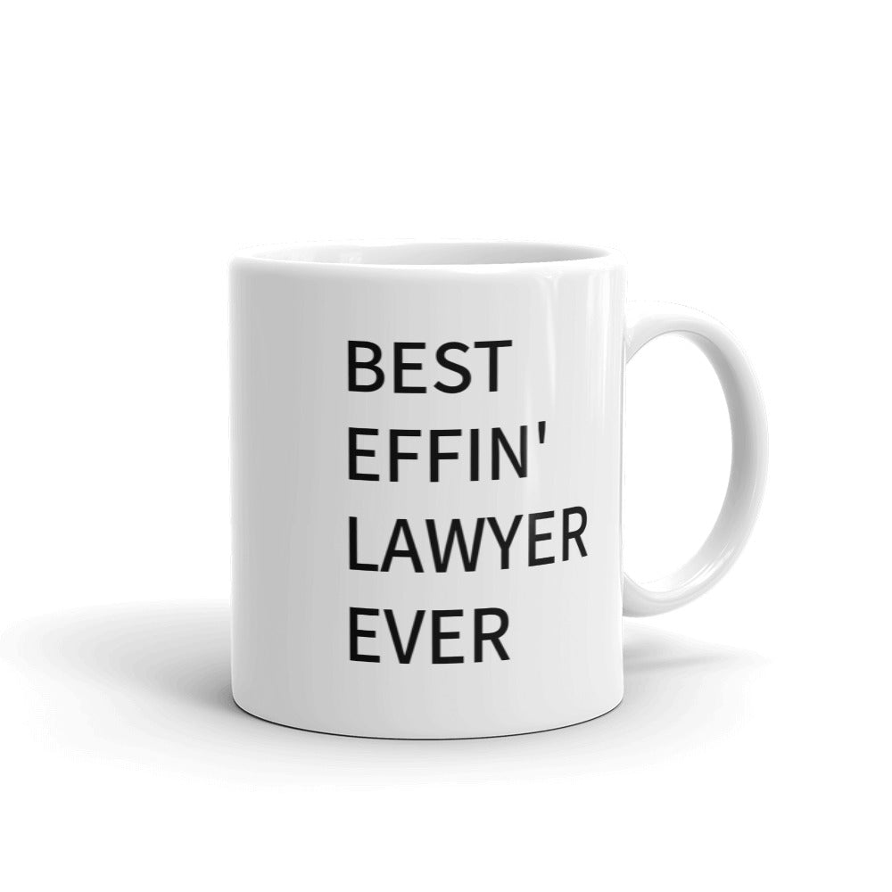 Best Effin lawyer Mug - mugsouk