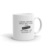 I  am a Super cool Doctor Coffee Mug - mugsouk
