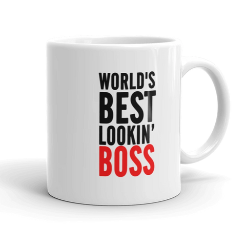 World's Best Looking Boss Coffee Mug - mugsouk