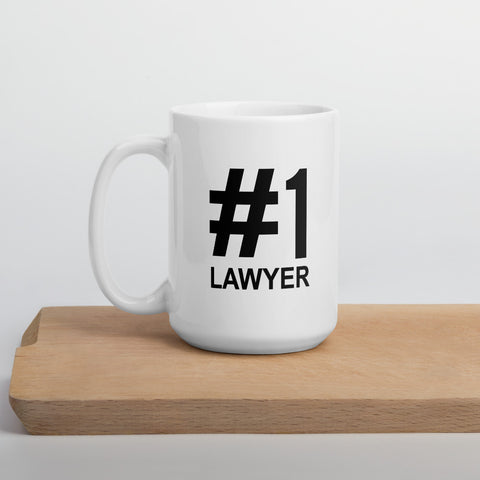 #1 Lawyer Mug - Number One - mugsouk
