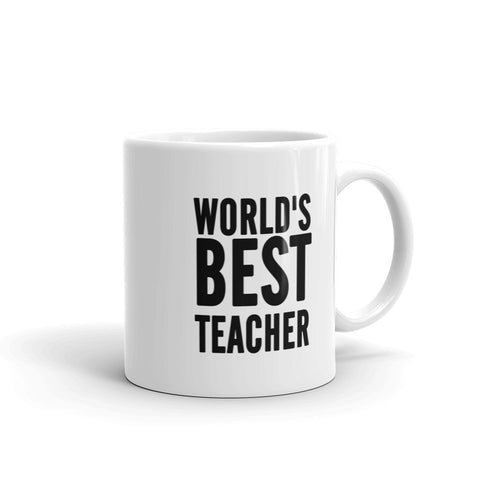 World's Best Teacher coffee Mugs - mugsouk