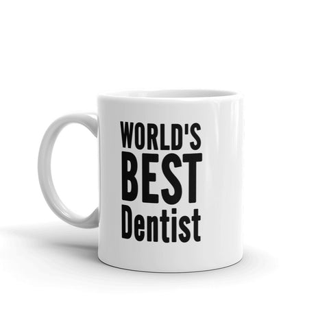 World's Best Dentist coffee Mugs - mugsouk