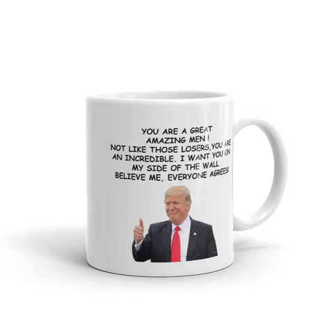 Funny Donald Trump Great Man Coffee Mug - mugsouk