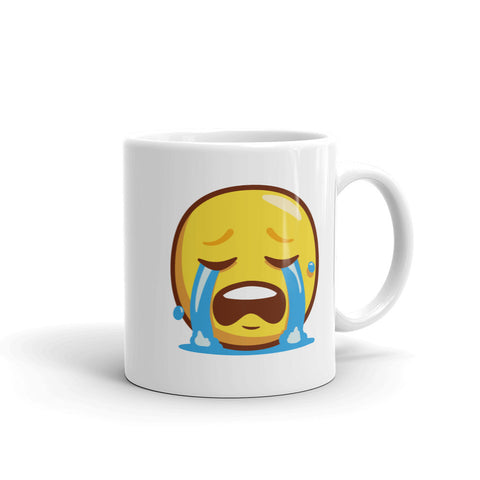 crying emoji Mug - mugsouk
