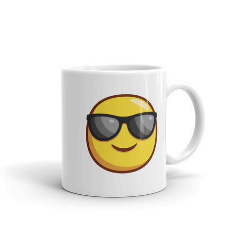smiley glasses emoji - mugsouk